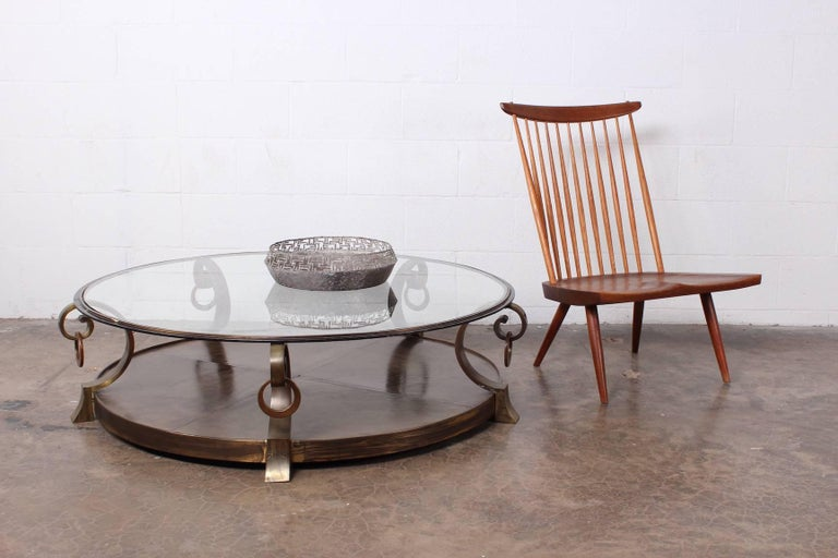 Bronze Coffee Table by Arturo Pani For Sale 8