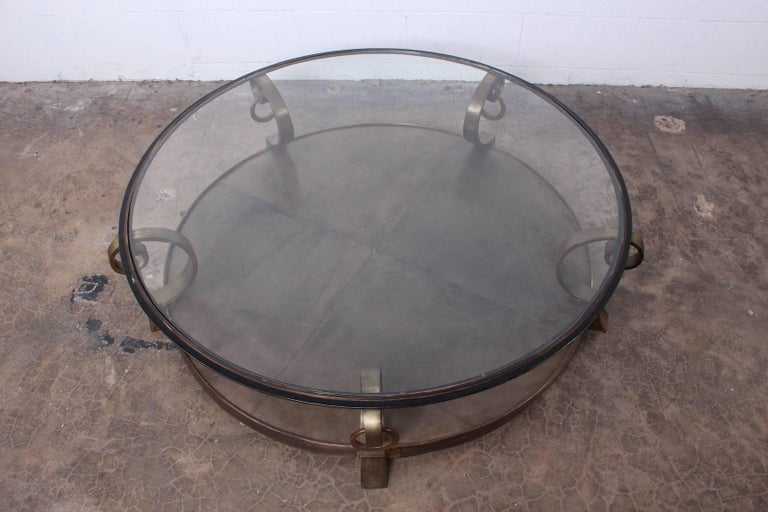 Bronze Coffee Table by Arturo Pani For Sale 2