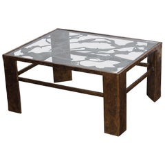 Bronze Coffee Table by Silas Seandel