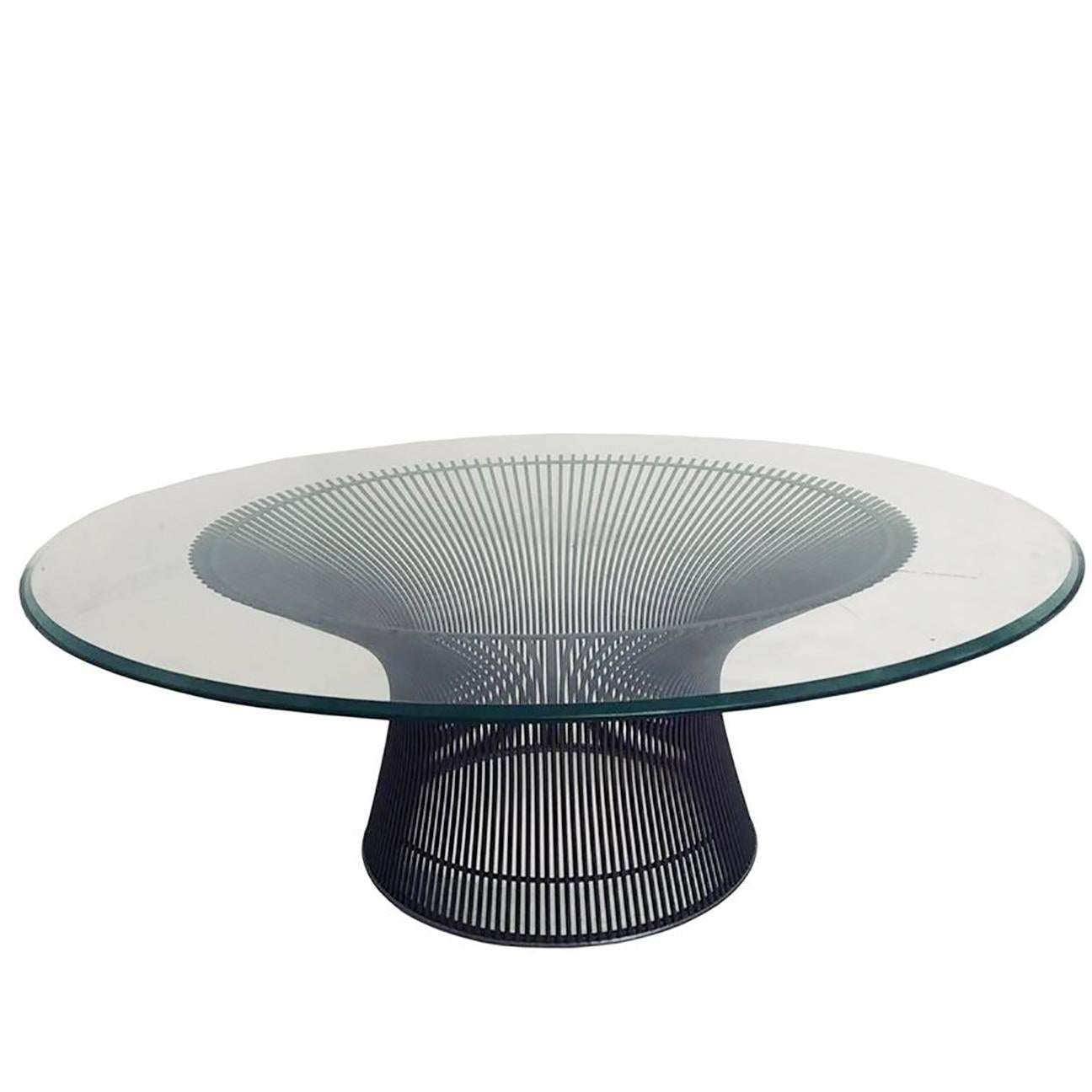 Beau Bronze Coffee Table By Warren Platner For Sale At 1stdibs
