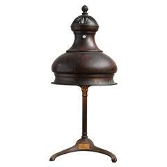 Bronze Color Identification Desk Lamp by Macbeth
