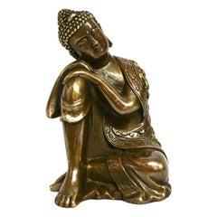 Bronze Contemplative Buddha