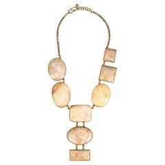 Bronze Coral Madrepora Necklace Bronze