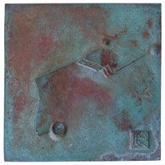 Bronze Cosanti Tile by Paolo Soleri, 1960s