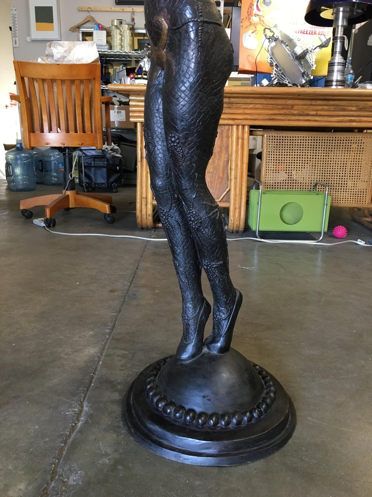 Bronze Deco Statue Fashioned After