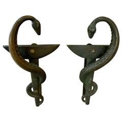 Bronze Door Handles from France