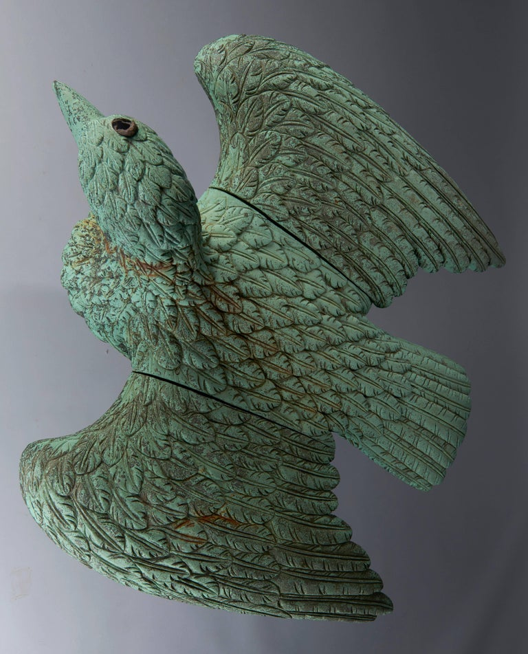 American Classical Bronze Eagle Fountain For Sale