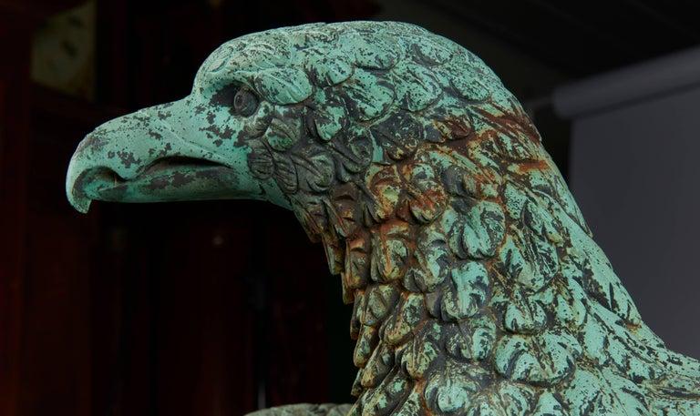 American Bronze Eagle Fountain For Sale