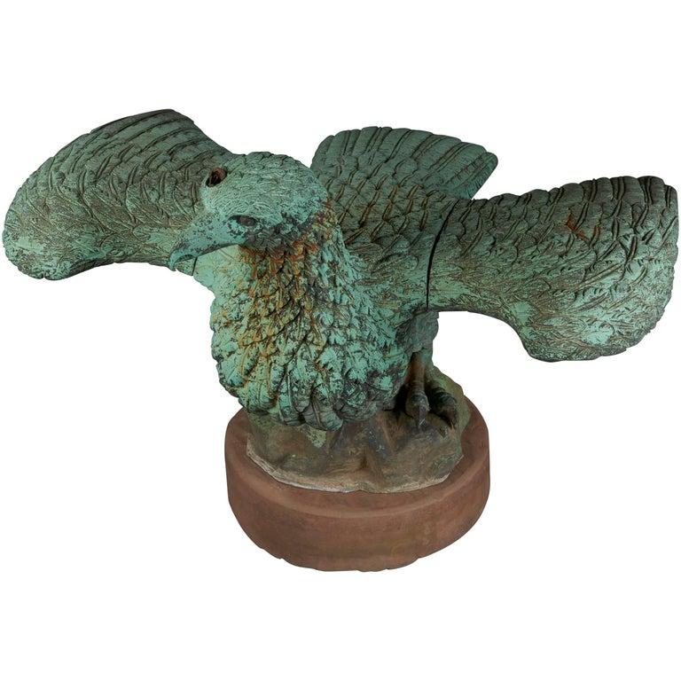 Bronze Eagle Fountain For Sale