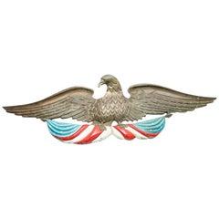 Bronze Eagle Wall Plaque Americana