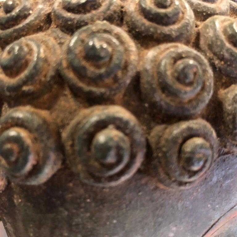 Bronze Enlightenment Buddha Shakyamuni Serene Down Cast Eyes 18th Century For Sale 9