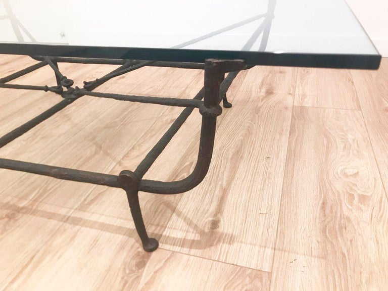 Neoclassical Bronze Etruscan Coffee Table by Christopher Chodoff For Sale