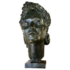 Bronze Female Bust by Abbot Pattison