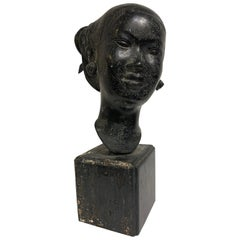 Bronze Female Figurative Sculpture