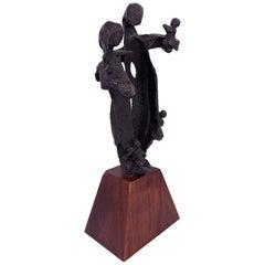 Bronze Figurative Sculpture of Family