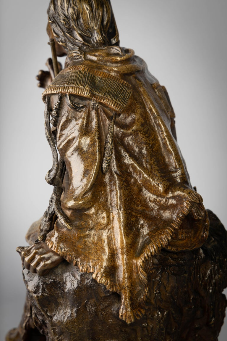 Early 20th Century Bronze Figure of a