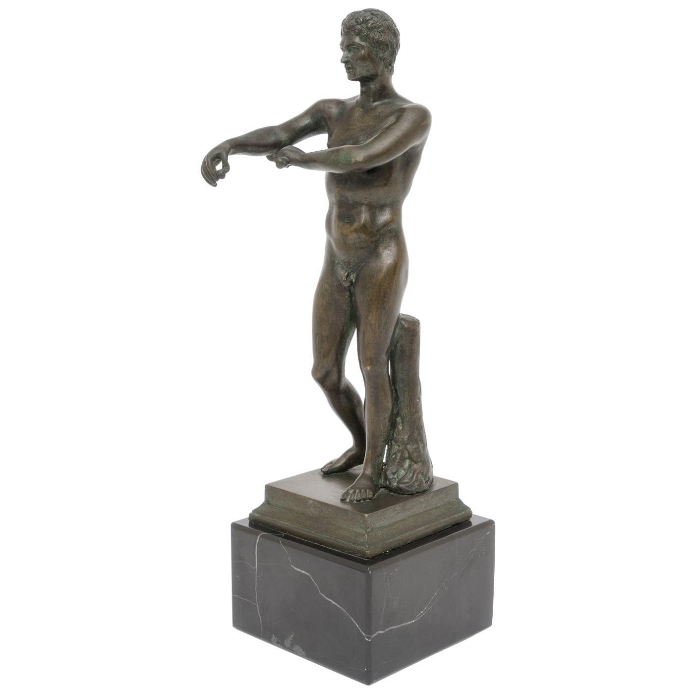 Bronze Figure of an Athlete
