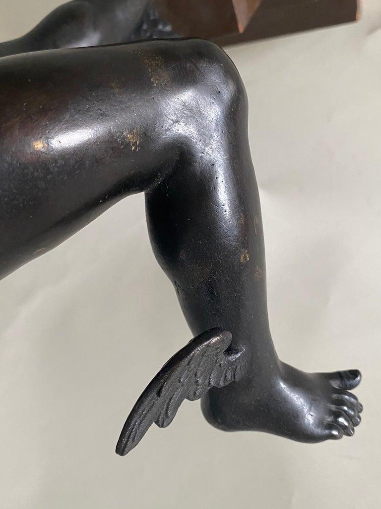 Bronze Figure of Mercury, After Giambologna, Italian, circa 1800 For Sale 1