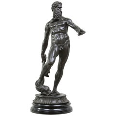 Bronze Figure of Neptune, after Giambologna