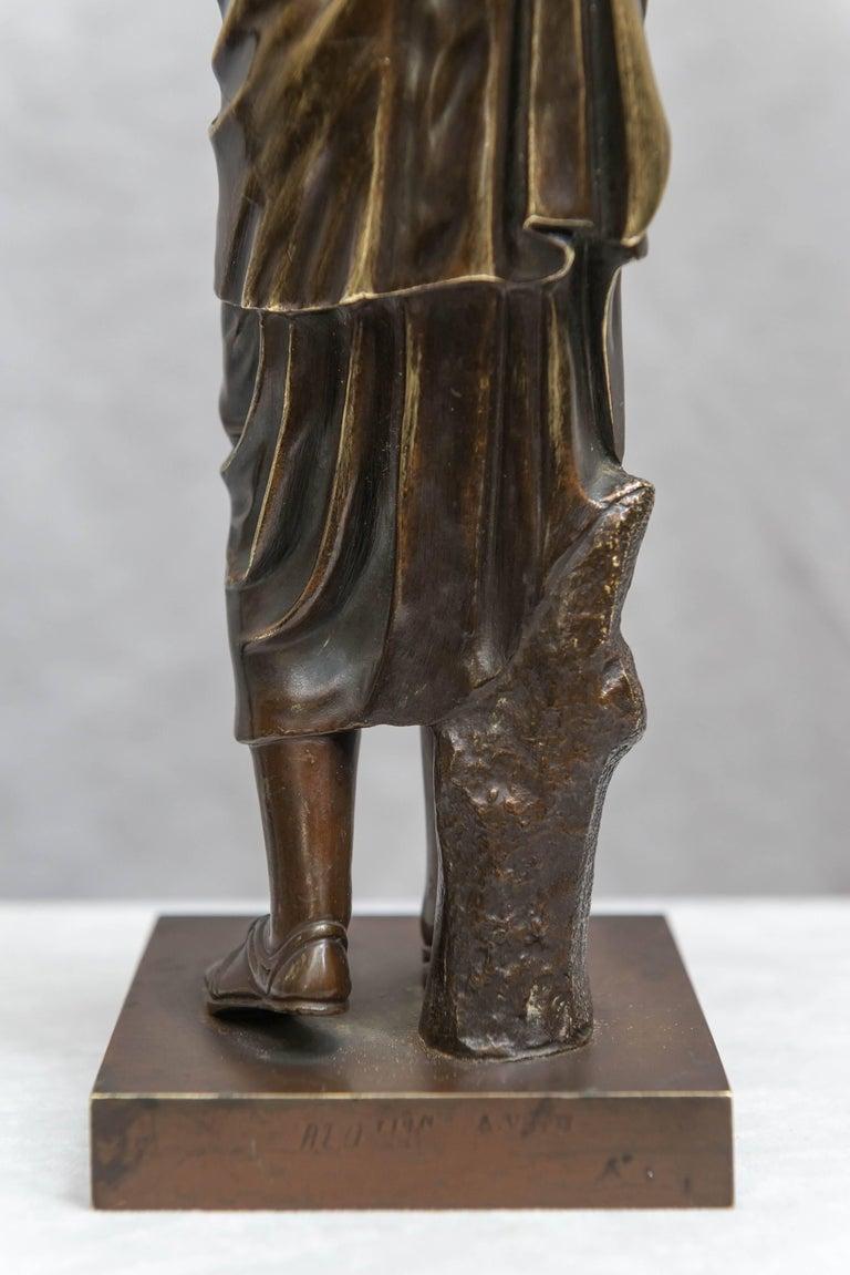 Bronze Figure of Venus, Souvenir of the Grand Tour For Sale 4