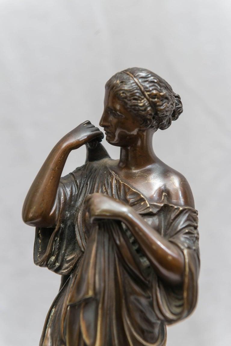 Italian Bronze Figure of Venus, Souvenir of the Grand Tour For Sale
