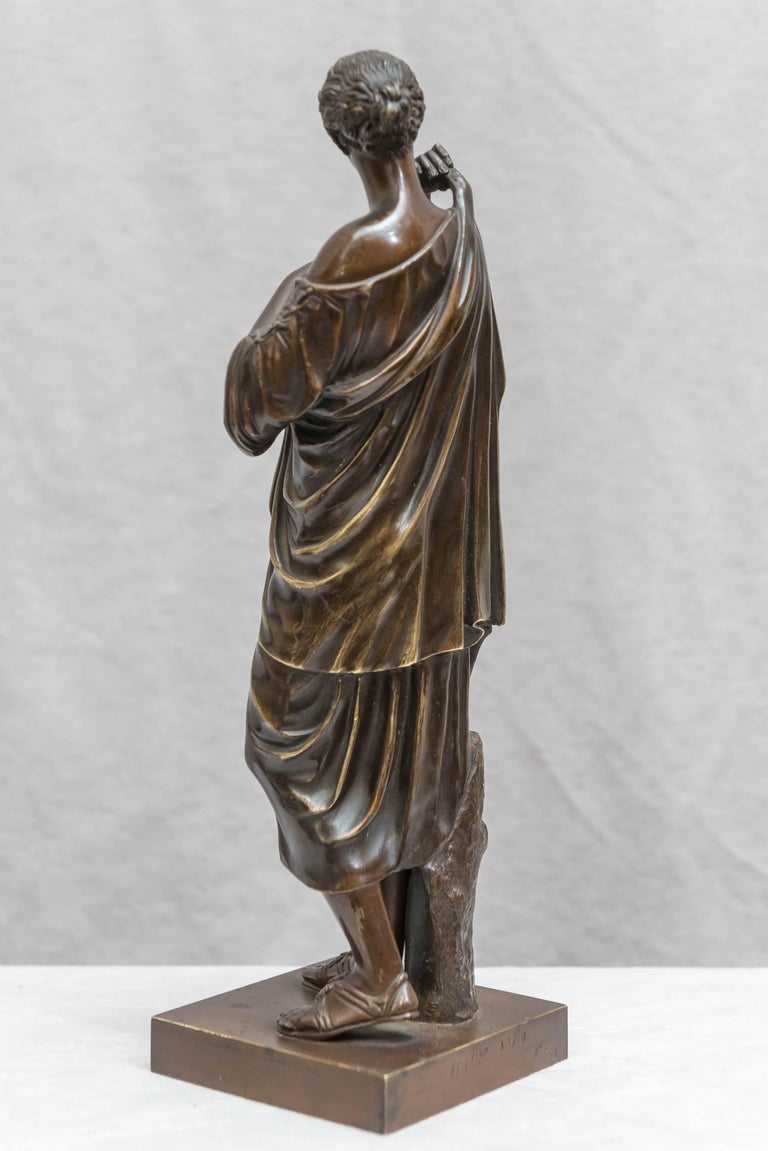 Bronze Figure of Venus, Souvenir of the Grand Tour In Excellent Condition For Sale In San Francisco, CA
