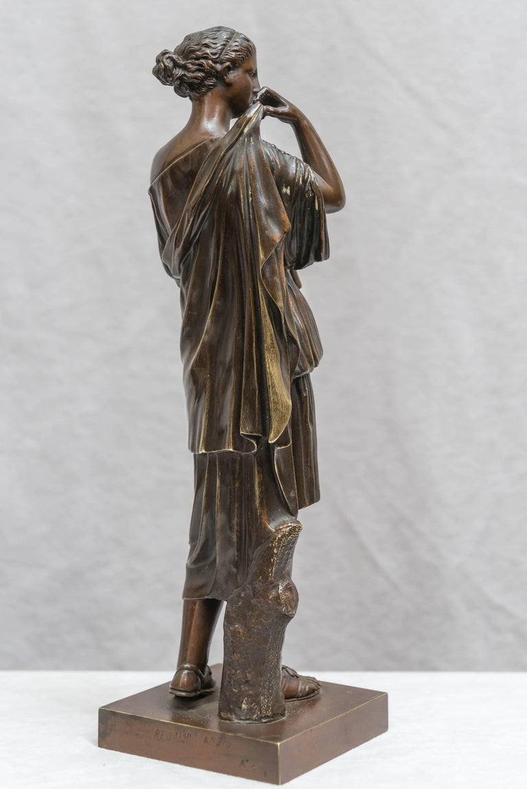 19th Century Bronze Figure of Venus, Souvenir of the Grand Tour For Sale