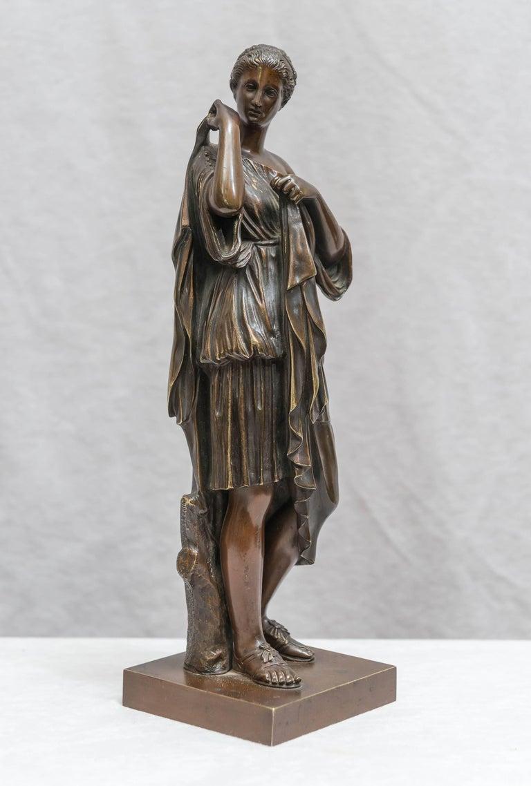 Bronze Figure of Venus, Souvenir of the Grand Tour For Sale 1