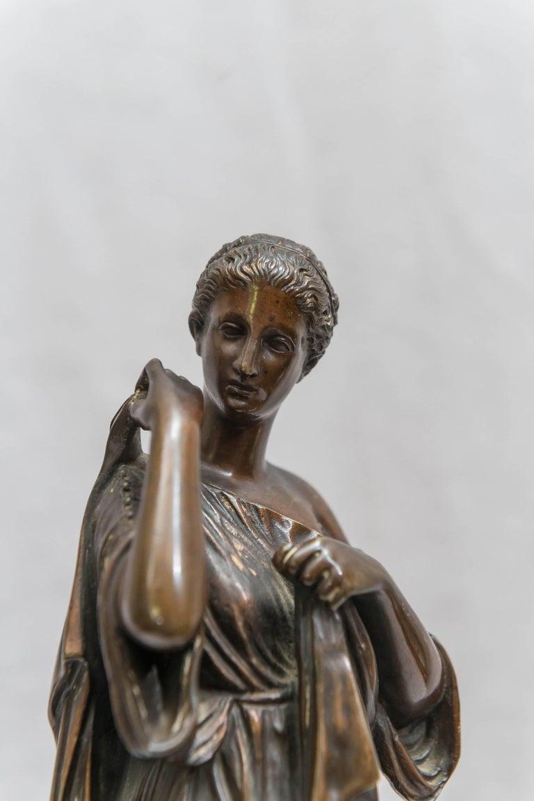 Bronze Figure of Venus, Souvenir of the Grand Tour For Sale 2