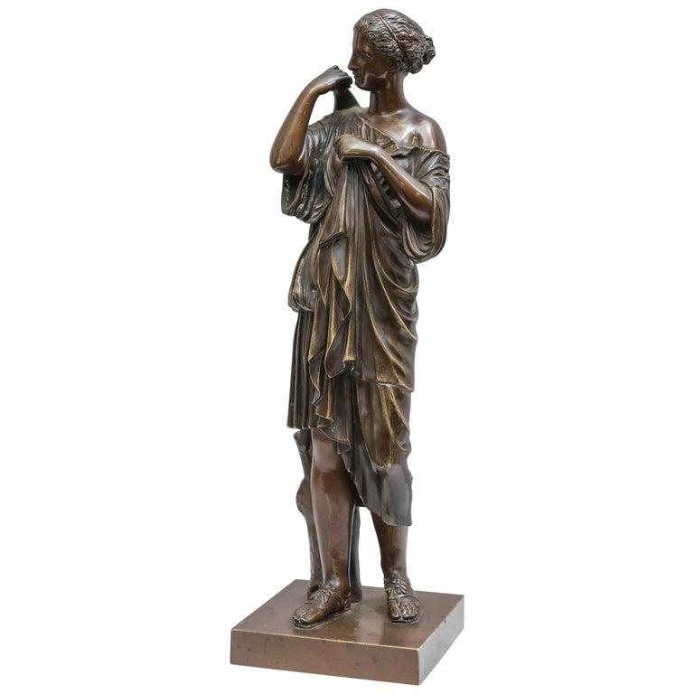 Bronze Figure of Venus, Souvenir of the Grand Tour For Sale