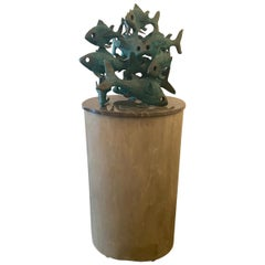 Bronze Fish Decoration