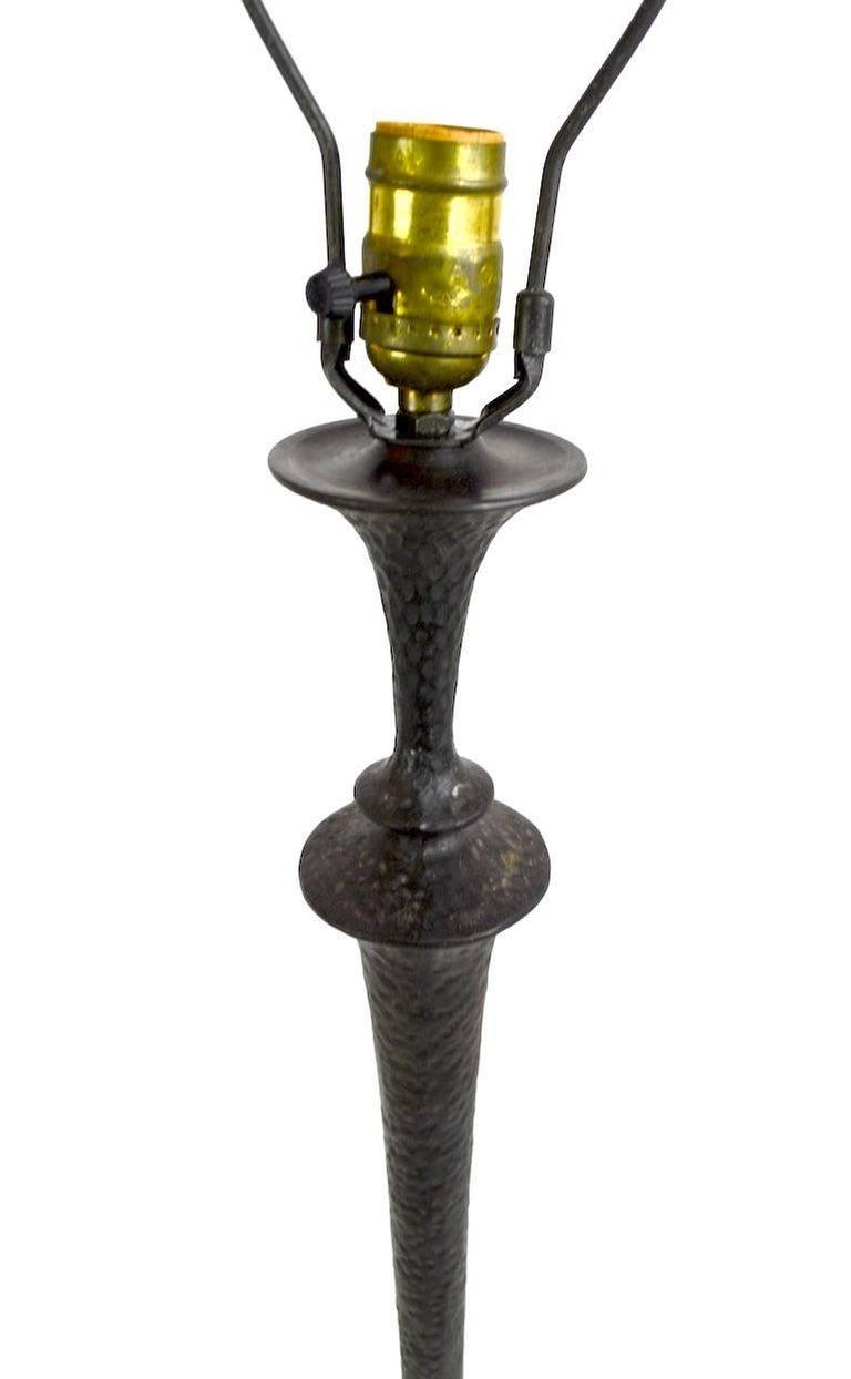 Italian Bronze Floor Lamp  For Sale