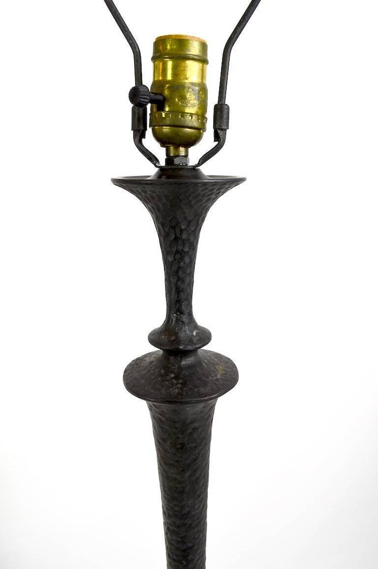 20th Century Bronze Floor Lamp  For Sale