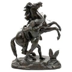 Bronze French Figure