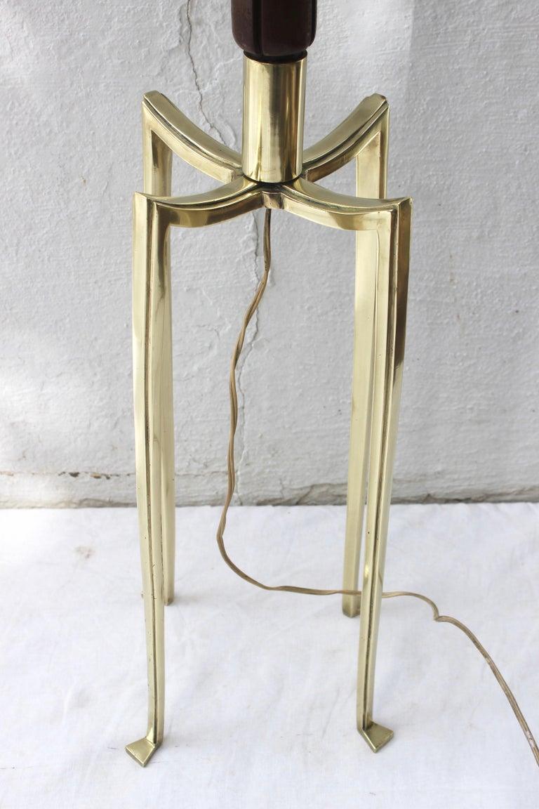Bronze Grasshopper Floor Lamp For Sale 5
