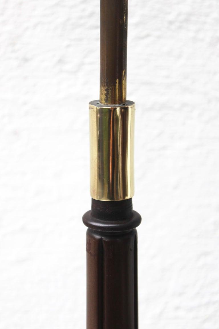 Bronze Grasshopper Floor Lamp For Sale 7