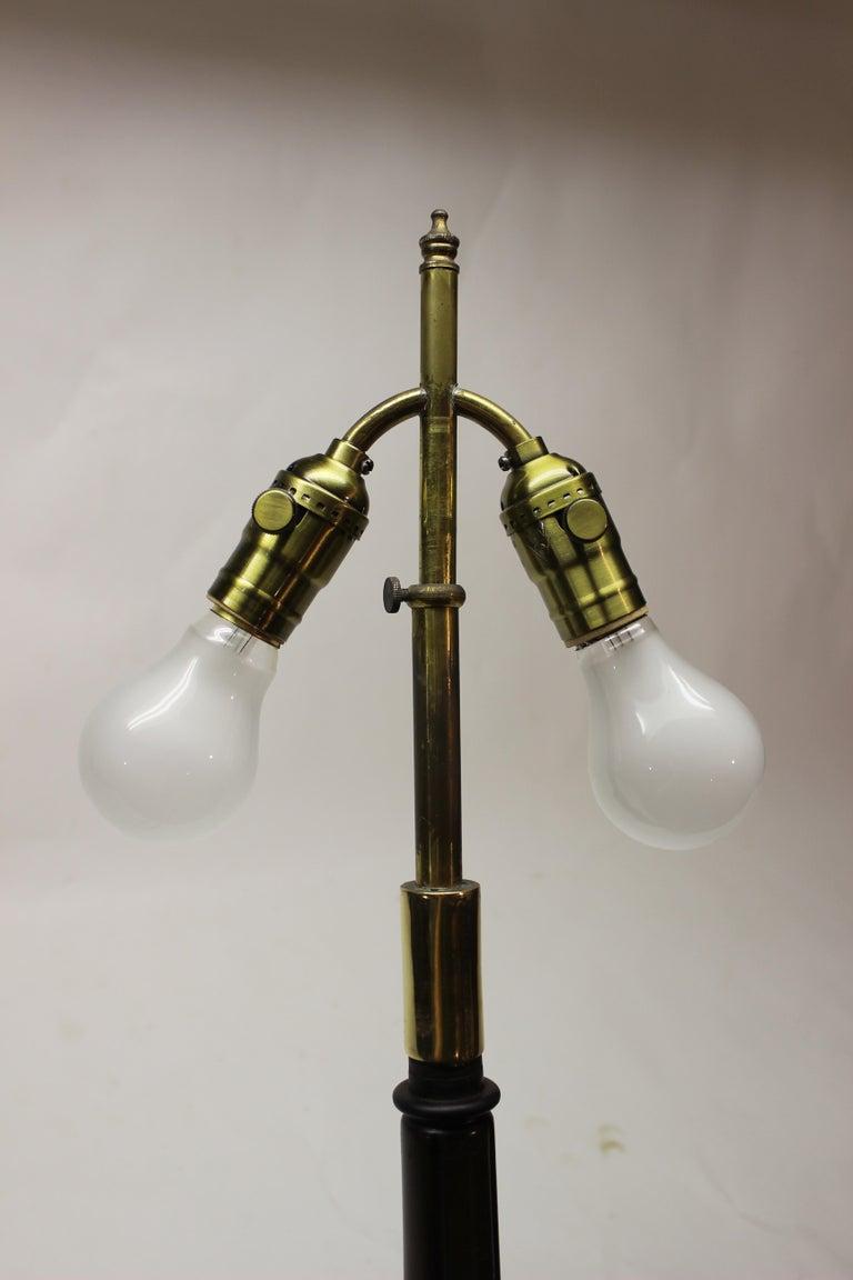 Bronze Grasshopper Floor Lamp For Sale 8
