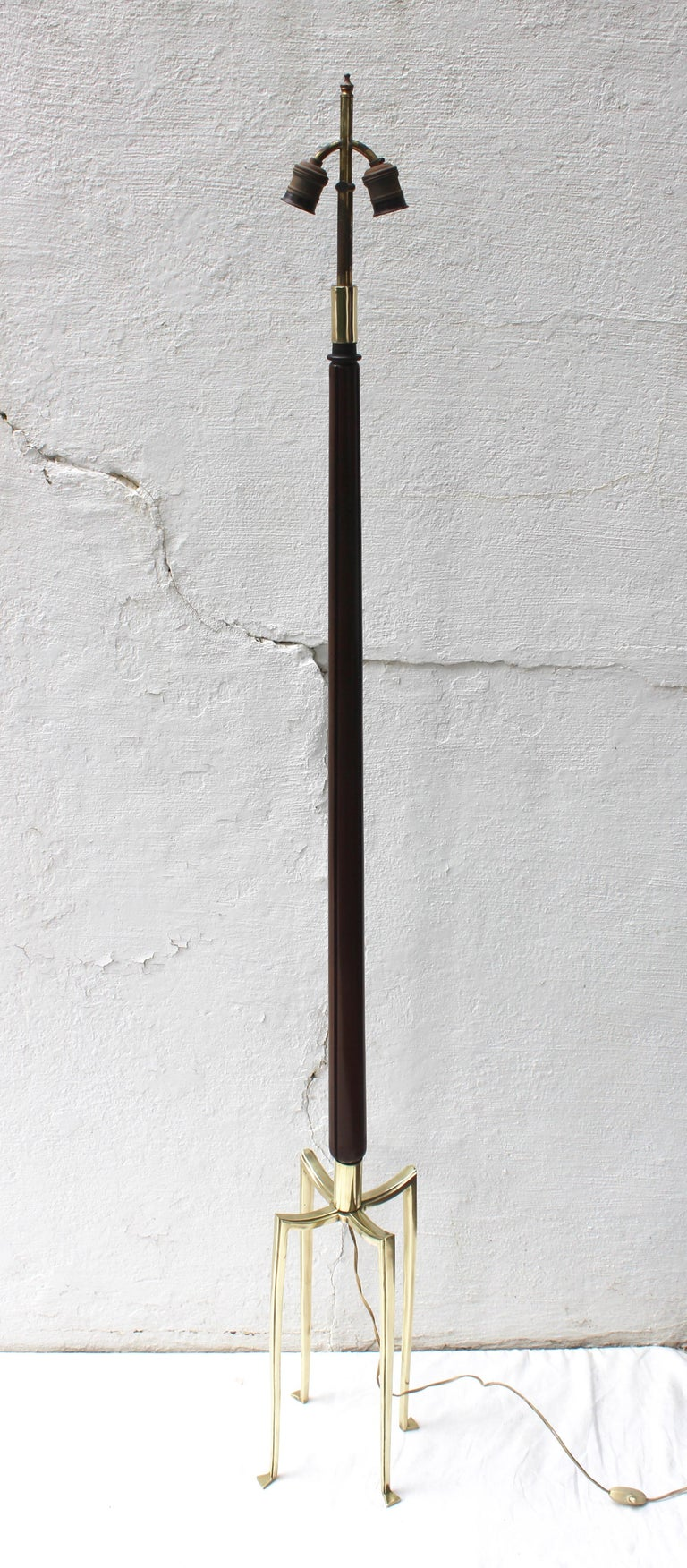Bronze Grasshopper Floor Lamp For Sale 3