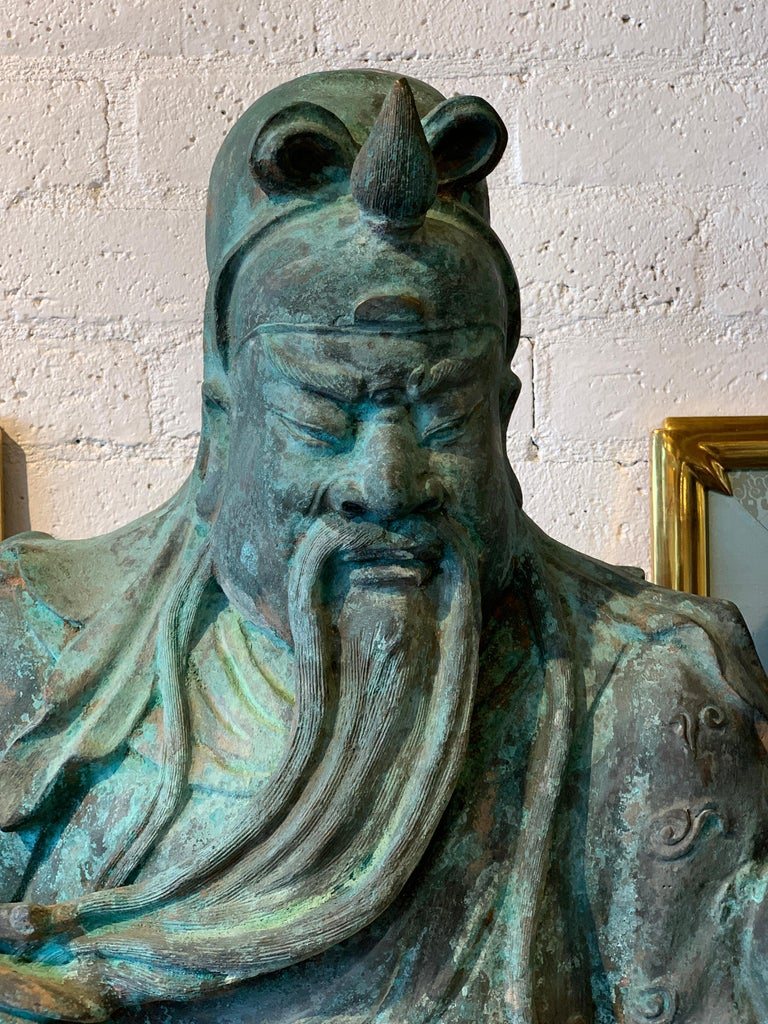 Bronze Guan Yu For Sale 8