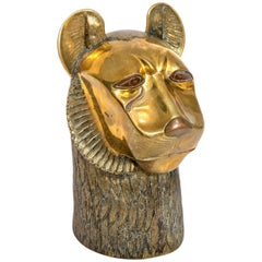 Bronze Head of a Lion