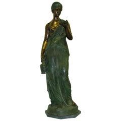 Bronze Hebe Goddess of Youth A Contemporary Replica