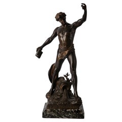 Bronze Henri Fugere the Triumph of Genius