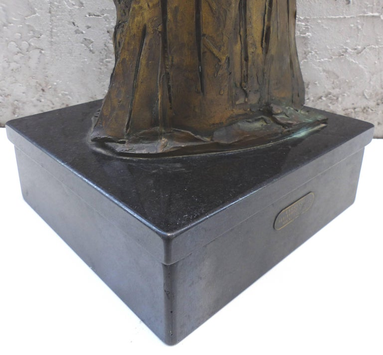Bronze Horse Sculpture by the Mexican Artist Heriberto Jaurez For Sale 4