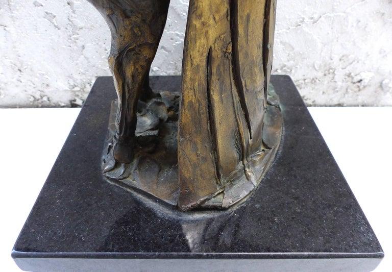 Bronze Horse Sculpture by the Mexican Artist Heriberto Jaurez For Sale 3