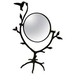 Bronze Hummingbird and Arboriform Mirror