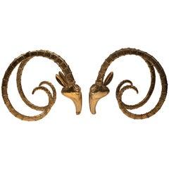 Bronze Ibex Table