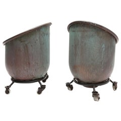 Bronze Industrial Cachepots