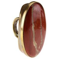 Bronze Jasper Big Ring