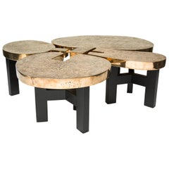 Bronze 'Josephine' Coffee Table by Ado Chale