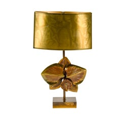 Bronze Lamp by Maison Charles